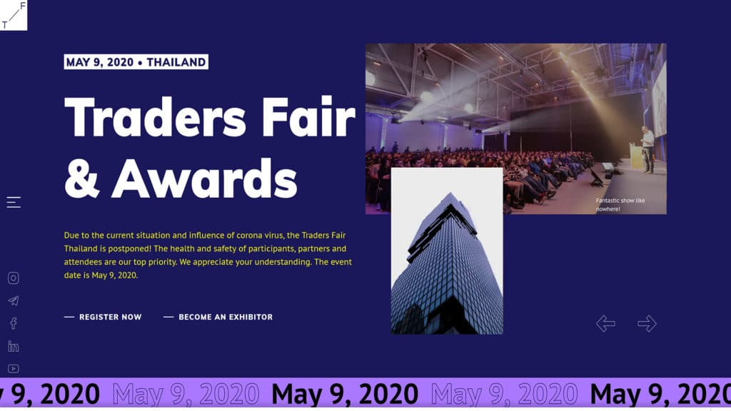 Traders Fair Thailand 2020